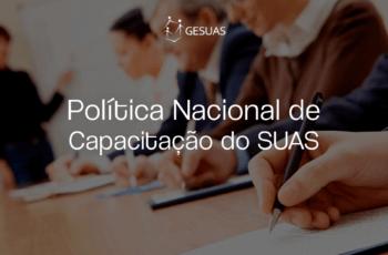 Política Nacional de Capacitação do SUAS