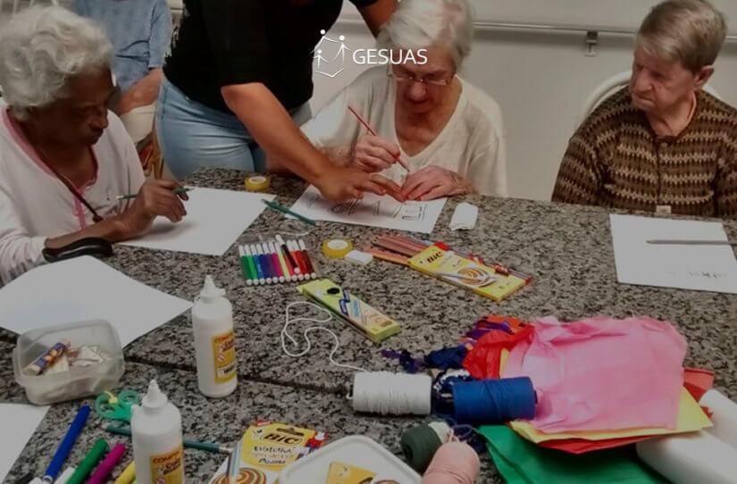 Conhecido Atividades do SCFV para idosos - Rede SUAS GO22